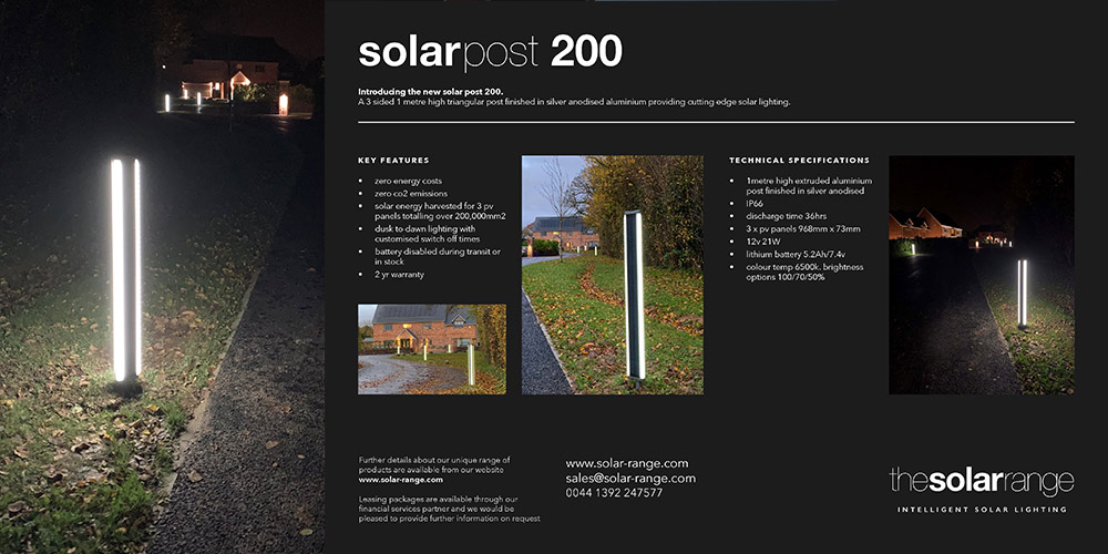 solar post 200 brochure cover